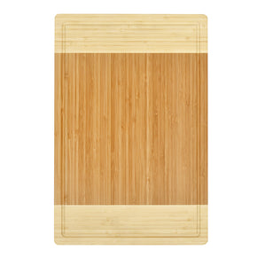 "Bamboo Cutting Board and Serving Tray with Juice Groove-Extra Large 18"" x 12"""