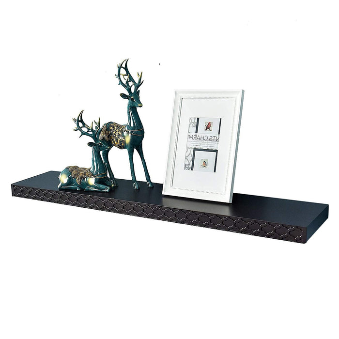 "Elizabeth Classic Floating Wall Shelf, 36""L x 9""D x 2""T"