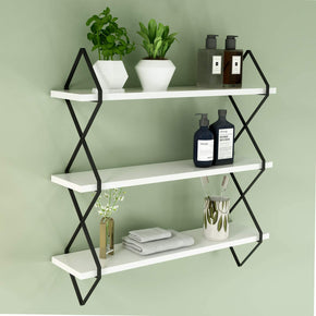 3 Tier Floating Display Wall Mount Hanging Shelf