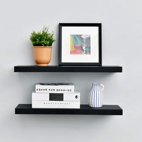 24 Inch Length Floating Shelves Set Of Two