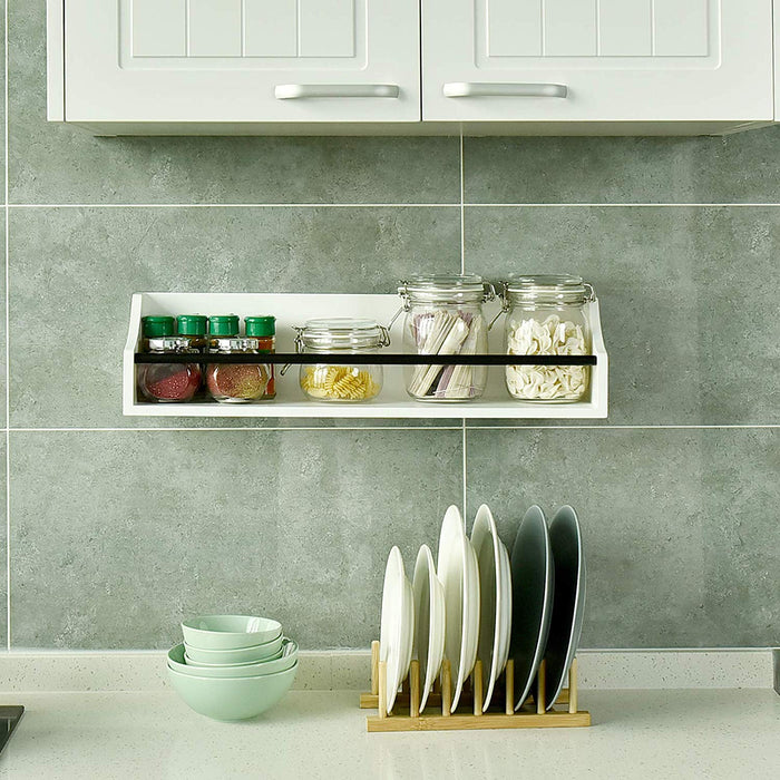 Floating wall shelf for kitchen by welland store