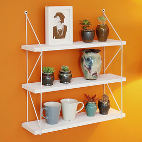 3 Tier Display Wall Shelf Storage Rack Wall Rack Holder Rack