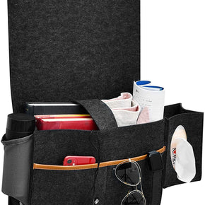 Charleston Bedside Storage Organizer (Black)