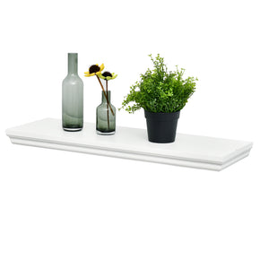 "Dover Floating Wall Shelf, 24""L x 8""D x 1.5""T"