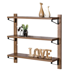 Concord 3-Tier Floating Shelf, Adjustable Hanging Shelves