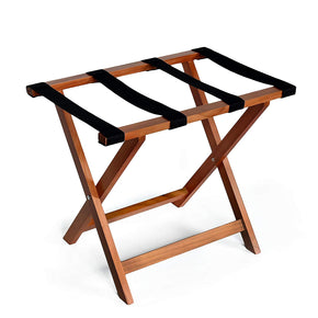 Wooden Folding Suitcase Luggage Rack Stand