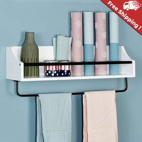 Rack floating wall shelf by welland store