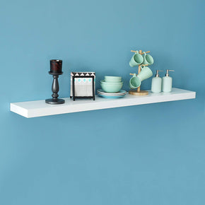 New Chicago Floating Wall Shelf, White, 60 Inch, Welland