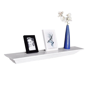 "Corona Crown Molding Floating Wall Shelf, 36""L x 5.25""D x 3.25""T"