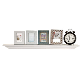 "Corona  Large Fireplace Mantel Shelf 60"" Length Crown Molding Floating Wall Shelf, 60""L x 5.25""D x 3.25""T"