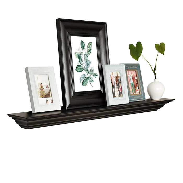 Corona Crown Molding Floating Wall Shelf, 60-Inch