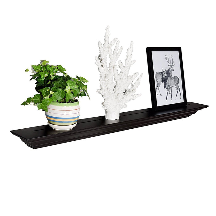 Corona Crown Molding Floating Wall Shelf, 48 Inch