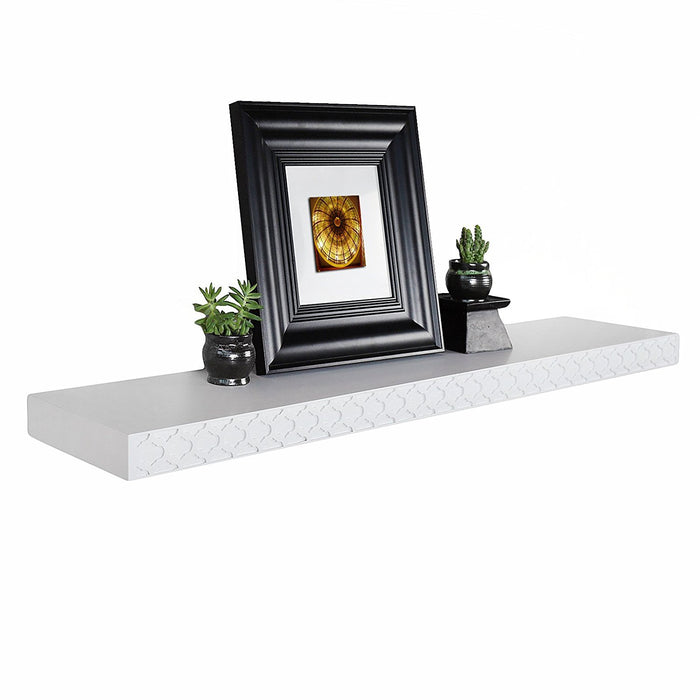 Elizabeth Classic Wall floating wall shelf, 48 Inch, Welland