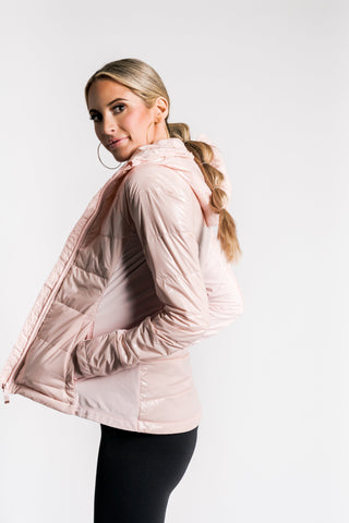 Insulated Puffer Jacket - Blossom