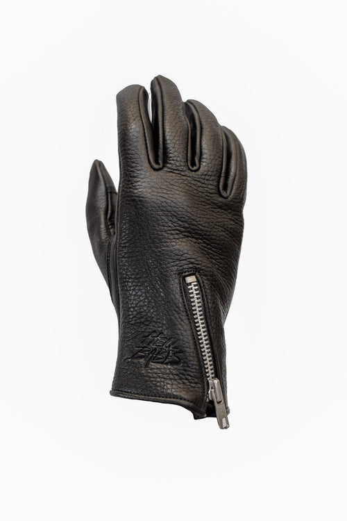 Rebel Soul Leather Motorcycle Gloves
