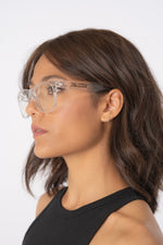 Women's Clear Motorcycle Riding Glasses