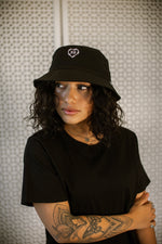 Cold Heart Bucket Hat - Black