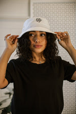 Cold Heart Bucket Hat - Off White