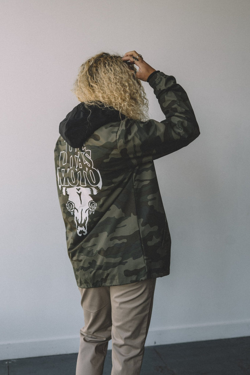 Sweet Camo Coaches Jacket
