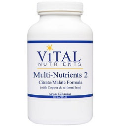 Multi-Nutrients 2 - Multi-Vitamin & Mineral (180 Capsules)
