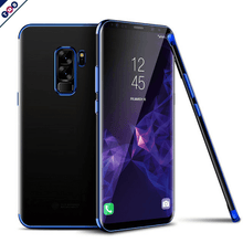 Fashion Transparent Luxury Case GALAXY S9 / S9 Plus blue