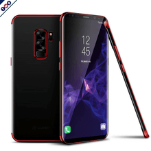 Fashion Transparent Luxury Case GALAXY S9 / S9 Plus red