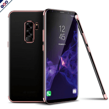 Fashion Transparent Luxury Case GALAXY S9 / S9 Plus rose gold