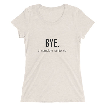 Dismissed Ladies' Tee