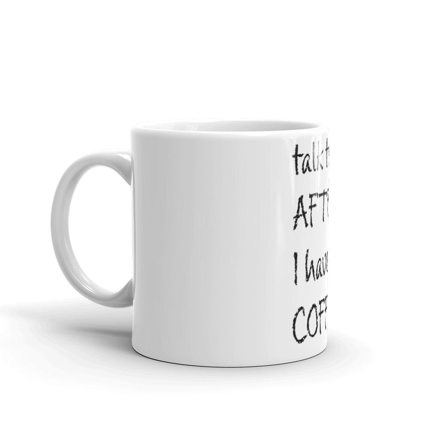 After Coffee mug