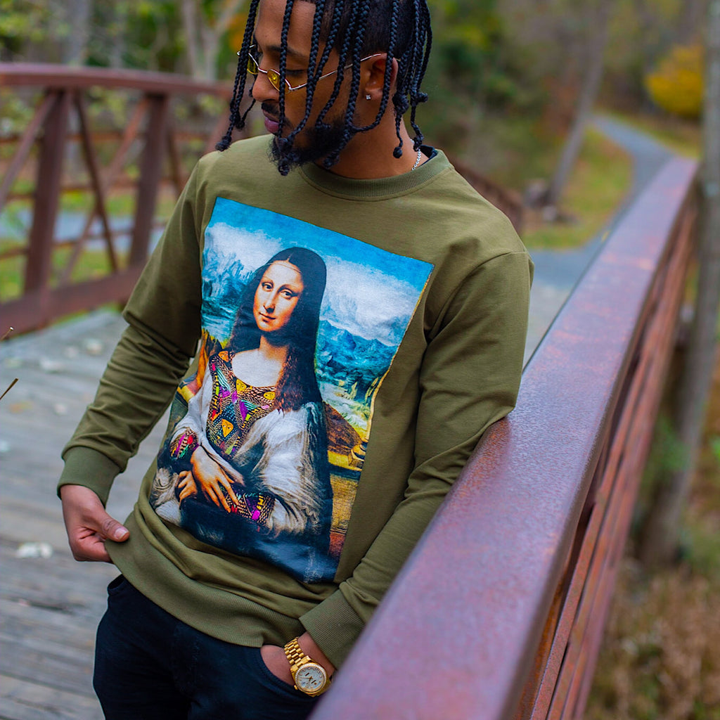 ERT-ALE™  Mona Lisa Crewneck - His