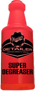 Meguiar's Pro Detailer Super Degreaser Bottle