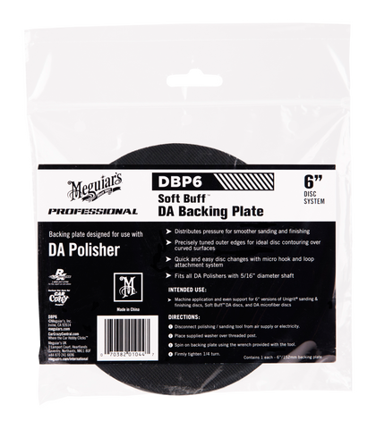 Meguiar's Pro DBP6 DA Backing Plate 6''