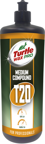 TurtleWax Pro T20 Medium Cut Compound – 250 ml