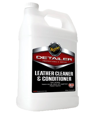Meguiar's Pro Leather Cleaner & Conditioner