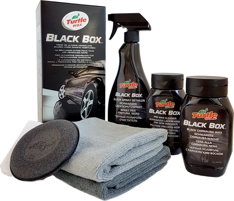 TurtleWax Jet Black Box Kit