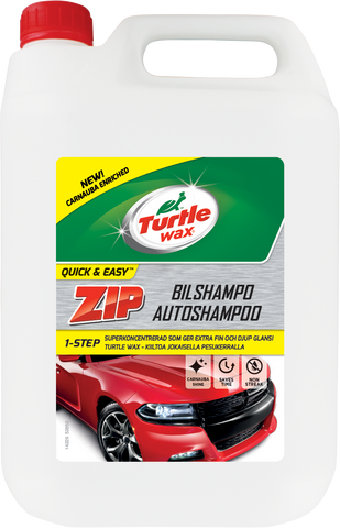 TurtleWax Zip Autoshampoo –5 litra