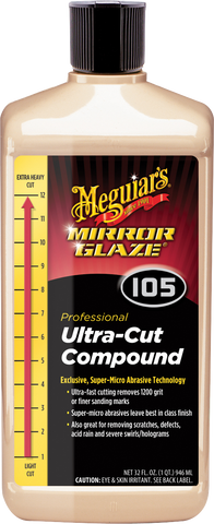 Meguiar's Pro M105 Mirror Glaze® Ultra–Cut Compound – 0,95 l