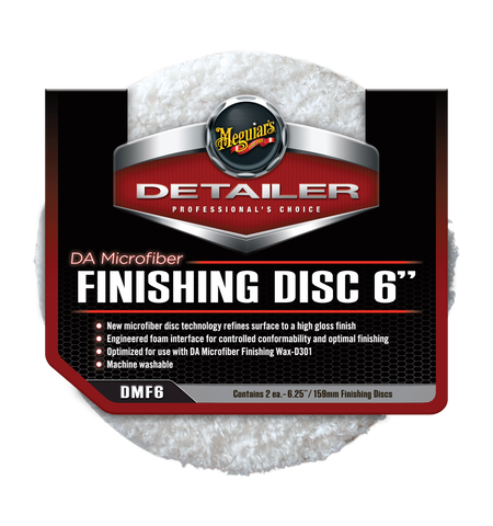 Meguiar's Pro DA Microfibre Finishing Disc 6''