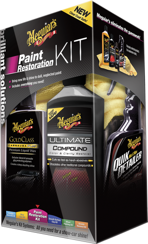 Meguiar's Brilliant Solutions Paint Restoration Kit