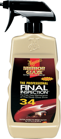 Meguiar's Pro M34 Mirror Glaze® Final Inspection – 0,47 l