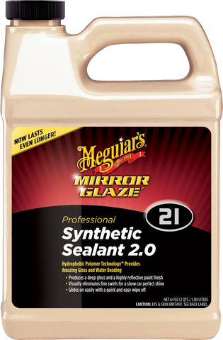 Meguiar's Pro M21 Mirror Glaze® Synthetic Sealant 2.0 – 1,90 l