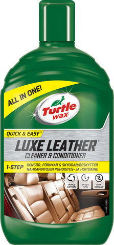TurtleWax Luxe Leather Cleaner & Conditioner