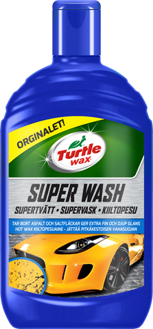 TurtleWax Super Wash Kiiltopesu, Hot Wax – 500 ml