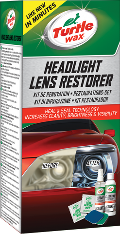 TurtleWax Headlight Lens Restorer Kit