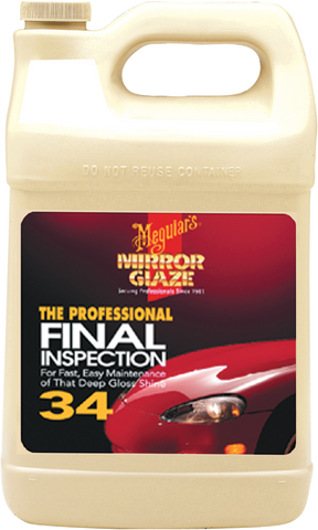 Meguiar's Pro M34 Mirror Glaze® Final Inspection – 3,78 l