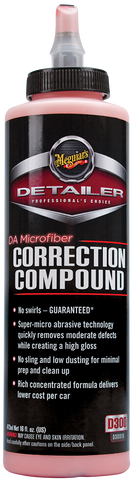 Meguiar's Pro DA Microfibre Correction Compound