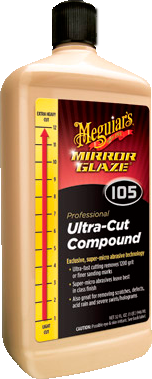 Meguiar's Pro M105 Mirror Glaze® Ultra–Cut Compound – 0,24 l