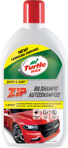 TurtleWax Zip Autoshampoo –1 litra