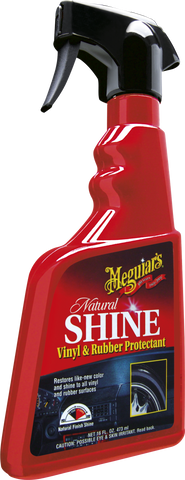 Meguiar's Natural Shine Vinyl & Rubber Protectant