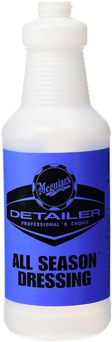 Meguiar's Pro Detailer All Season Dressing Bottle